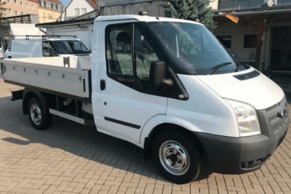 Ford Transit Pick-up Van Hire Thessaloniki